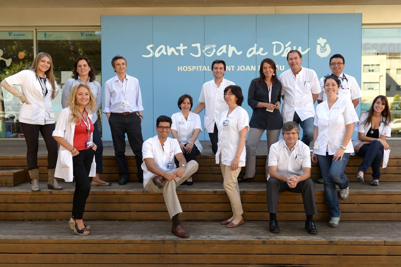 Equipo de Oncología de HSJD